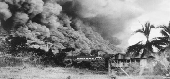 Mount-Lamington-Eruption-1951