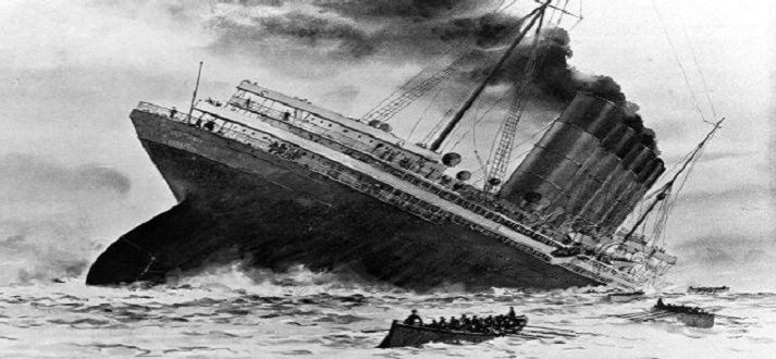 Sinking-of-the-Lusitania-1915