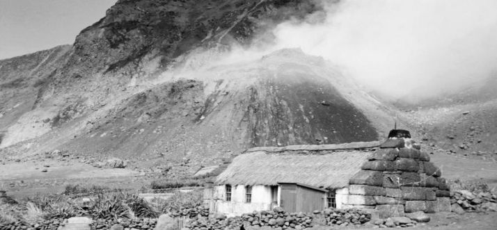 Tristan da Cunha Volcanic Eruption - October 8, 1961 | Devastating ...